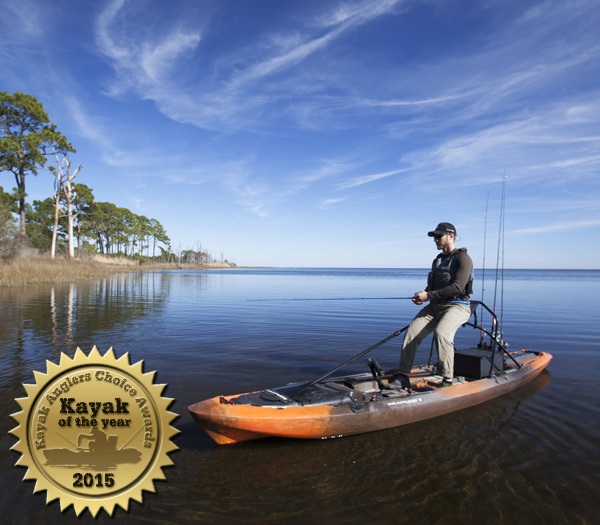 Wilderness Systems ATAK wins Kayak Angler's Choice Awards