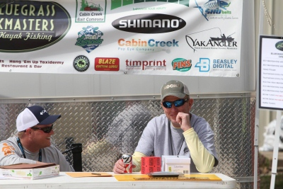 bluegrass yakmasters sponsored tournament