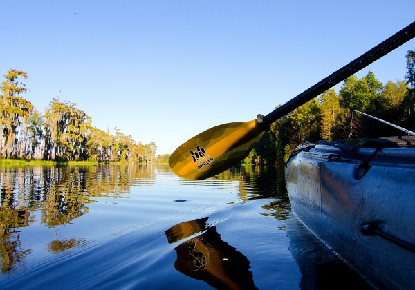 Kayak fishing gets you closer to nature
