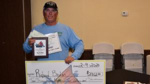 Richard Baden Takes First Place At IFA Kayak Fishing Tour Event At Titusville, Florida