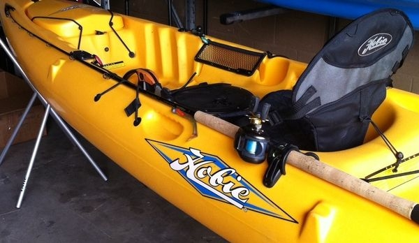 New Hobie Horizontal Rod Holder