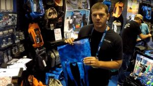 Waterproof Bag With Suction Cups - Drycase Booth ICAST 2017