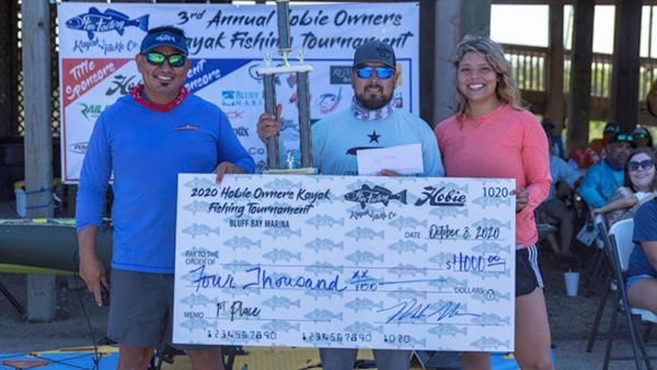 Andy Villarreal Wins Hobie Owners' Corpus Christi Tournament