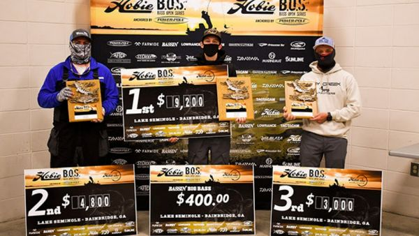 Records Crushed At The Hobie Bass Open Series Lake Seminole Event