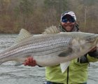 48 pounder caught on melton hill lake