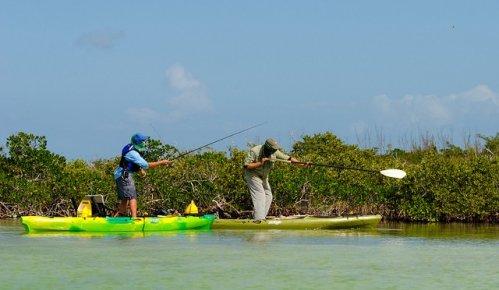 Lower Keys Kayak Fishing